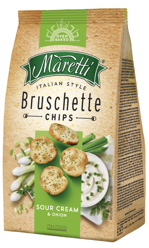 Bruschette Sour Cream & Onion 70g
